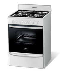 Cocina Multigas Longvie 18601B 4 Hornallas 60 cm Blanco