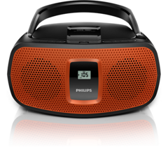 Reproductor de CD USB/MP3/AM/FM 5Wx2 Philips AZ391/77